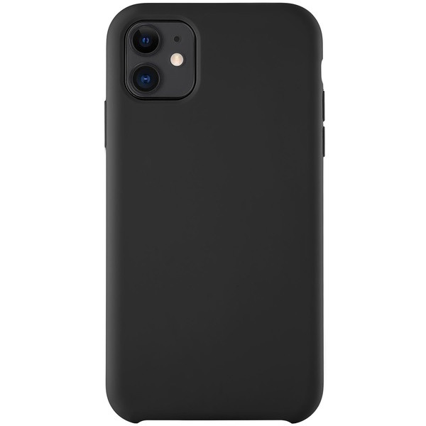 купить Чехол для смартфона uBear Soft Touch Case для iPhone 11, черный - цена, описание, отзывы - фото 1