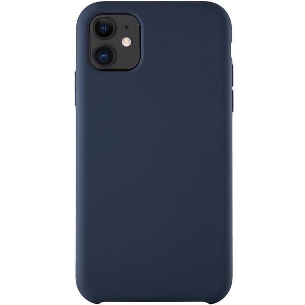 купить Чехол для смартфона uBear Soft Touch Case для iPhone 11, синий - цена, описание, отзывы - фото 1
