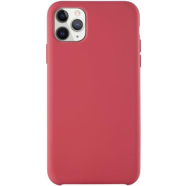 купить Чехол для смартфона uBear Soft Touch Case для iPhone 11 Pro Max, красный - цена, описание, отзывы - фото 1