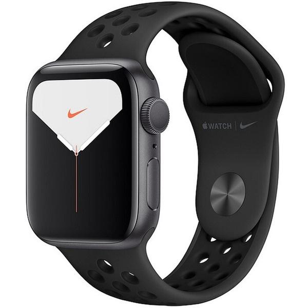 купить Смарт-часы Apple Watch Nike Series 5 44 мм серый космос, спортивный ремешок - цена, описание, отзывы - фото 1