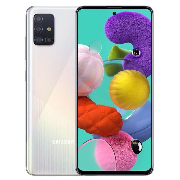 купить Смартфон Samsung Galaxy A51 64GB белый - цена, описание, отзывы - фото 1