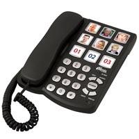 купить Проводной телефон Ritmix RT-500 black - цена, описание, отзывы - фото 1