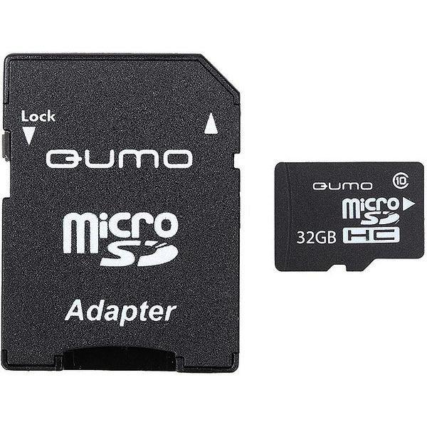 купить Карта памяти Qumo MicroSD 32GB Class 10 High-Capacity - цена, описание, отзывы - фото 1