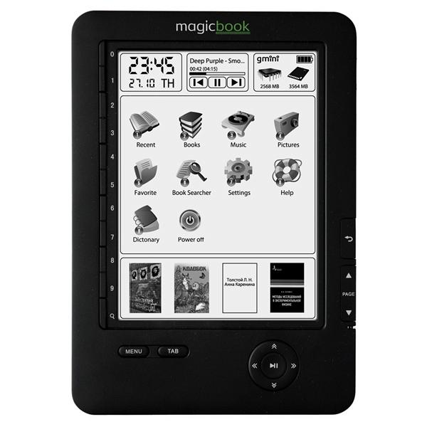 купить Электронная книга Gmini MagicBook M61SHD Black - цена, описание, отзывы - фото 1