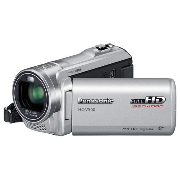 купить Видеокамера Panasonic HC-V500 Silver - цена, описание, отзывы - фото 1