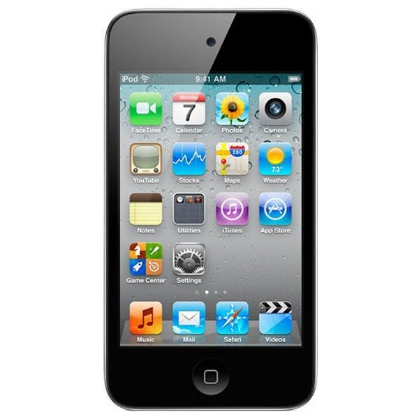 купить MP3-плеер Apple iPod touch 4 16Gb Black - цена, описание, отзывы - фото 1