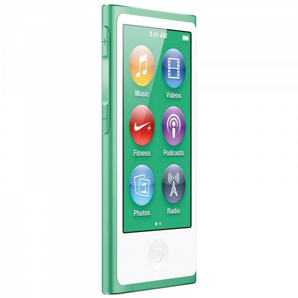 купить MP3-плеер Apple iPod nano 7 16Gb Green - цена, описание, отзывы - фото 1