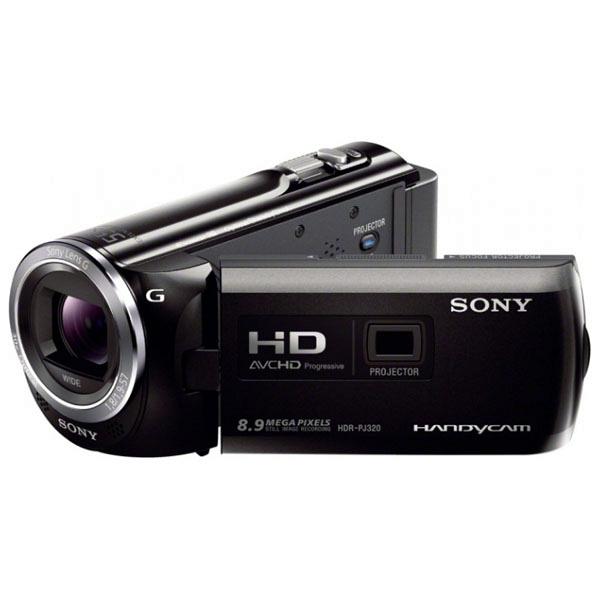 купить Видеокамера Sony HDR-PJ320E B Black - цена, описание, отзывы - фото 1