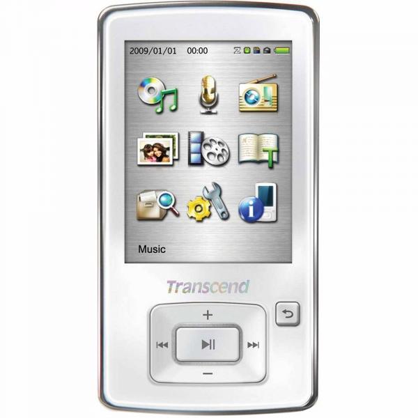 купить MP3-плеер Transcend T.Sonic 870 8Gb, белый - цена, описание, отзывы - фото 1