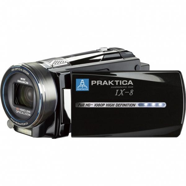 купить Видеокамера Praktica IX-8 black Full HD (1080п) - цена, описание, отзывы - фото 1