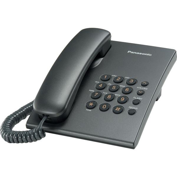купить Проводной телефон Panasonic KX-TS2350RUT - цена, описание, отзывы - фото 1