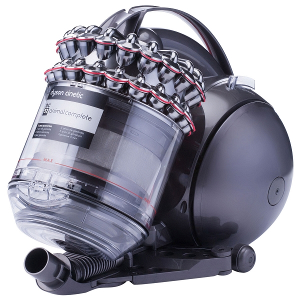 dyson dc52 awesome bagless vacuum cleaner dyson dc animal turbine silver nickel with dyson dc52. Black Bedroom Furniture Sets. Home Design Ideas
