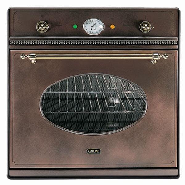 купить Духовой шкаф ILVE 600 NVG/RMX copper coloured, ручки хром - цена, описание, отзывы - фото 1