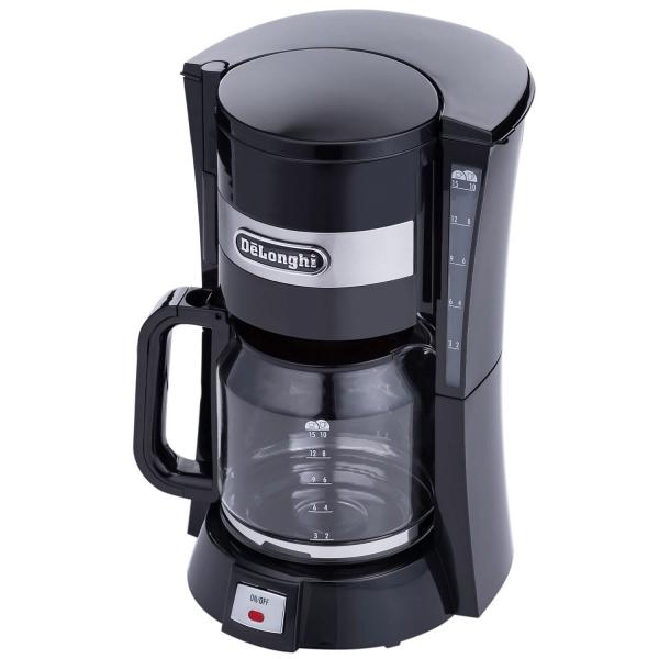 купить Кофеварка Delonghi ICM 15210 черная - цена, описание, отзывы - фото 1