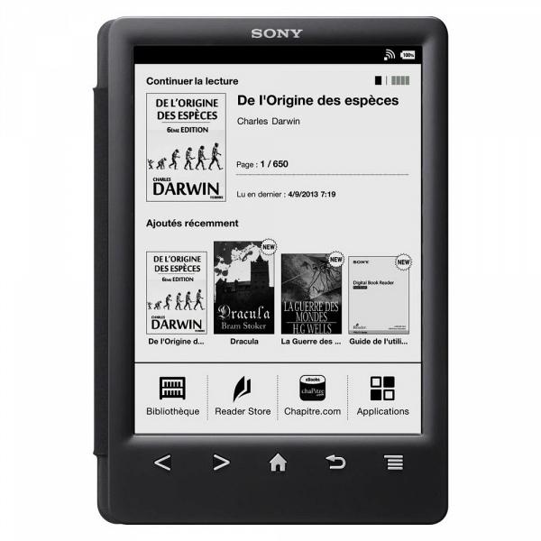 купить Электронная книга Sony PRS-T3 black - цена, описание, отзывы - фото 1