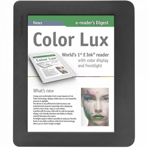 купить Электронная книга PocketBook 801 Color Lux grey - цена, описание, отзывы - фото 1