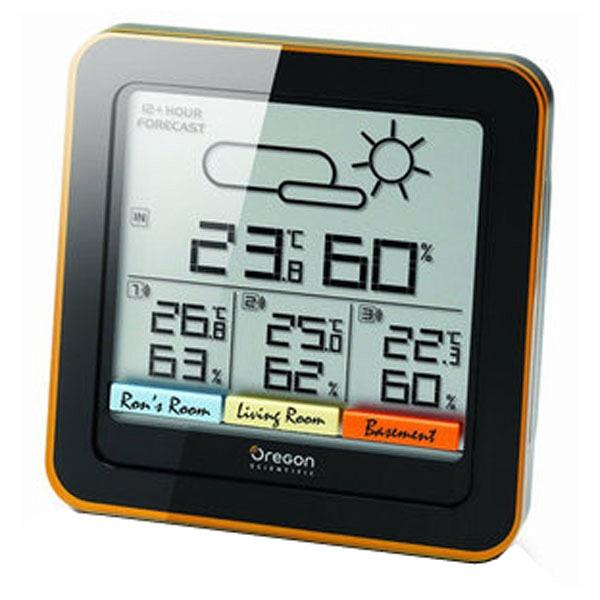 купить Цифровая метеостанция Oregon Scientific RAR 500 - цена, описание, отзывы - фото 1