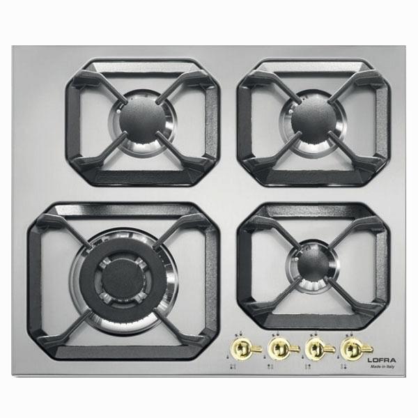 купить Варочная поверхность Lofra Dolcevita HRS6G0/GC39 сталь - цена, описание, отзывы - фото 1