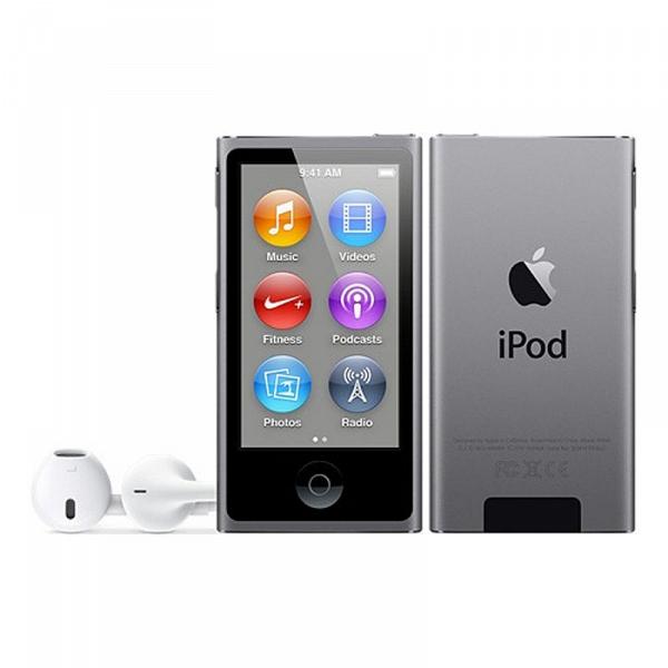 купить MP3-плеер Apple iPod nano 7 16Gb Space Gray - цена, описание, отзывы - фото 1