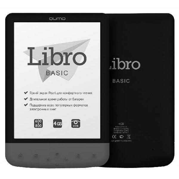 купить Электронная книга Qumo Libro Basic - цена, описание, отзывы - фото 1