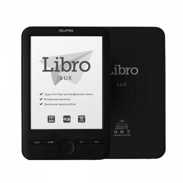 купить Электронная книга Qumo Libro Lux - цена, описание, отзывы - фото 1