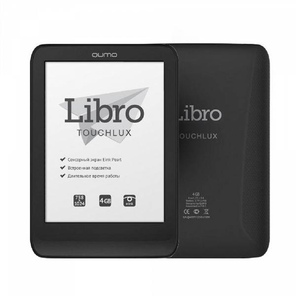купить Электронная книга Qumo Libro Touch Lux - цена, описание, отзывы - фото 1