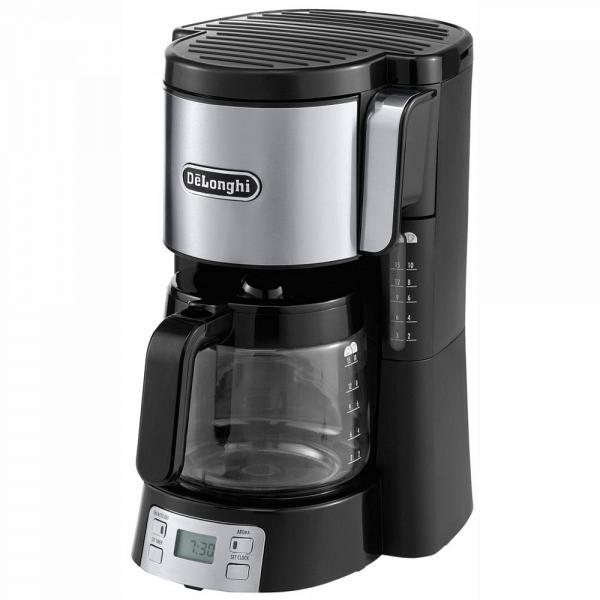 купить Кофеварка Delonghi ICM 15250 черная - цена, описание, отзывы - фото 1
