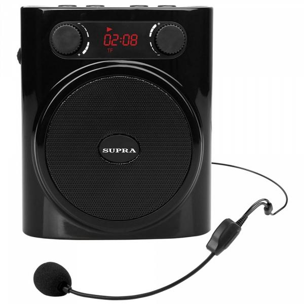 купить Радиоприемник Supra SPH-01K.black - цена, описание, отзывы - фото 1