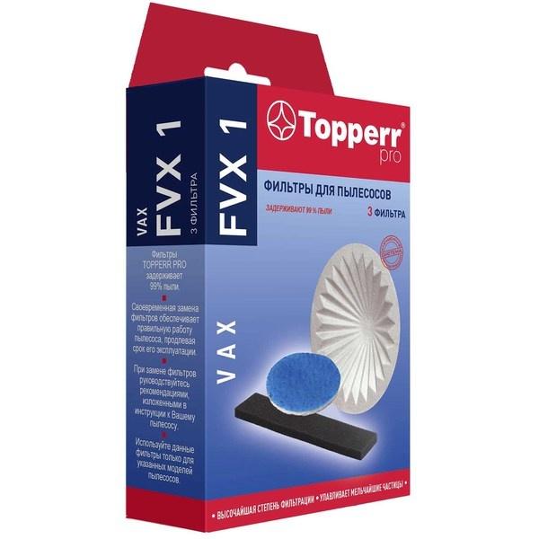 купить Фильтры для пылесоса Topperr FVX1 - цена, описание, отзывы - фото 1