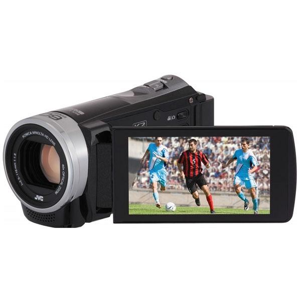 купить Видеокамера JVC GZ-E300 черный - цена, описание, отзывы - фото 1