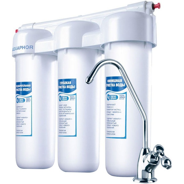 купить Фильтр для очистки воды Аквафор Трио Норма - цена, описание, отзывы - фото 1