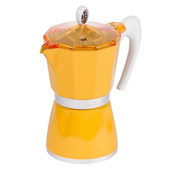 купить Кофеварка G.A.T 103806 BELLA желтая - цена, описание, отзывы - фото 1
