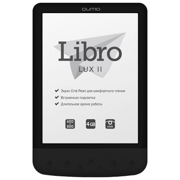 купить Электронная книга Qumo Libro Lux II - цена, описание, отзывы - фото 1