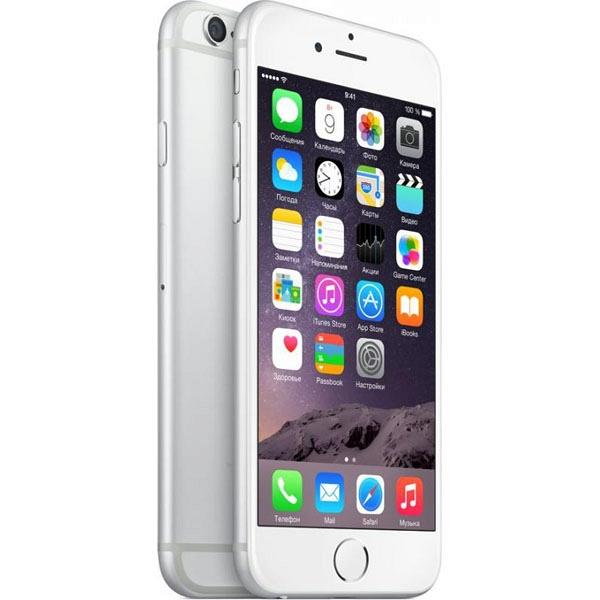 apple iphone 6 16gb silver цена