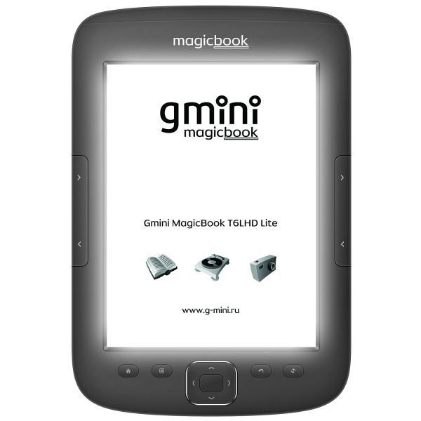 купить Электронная книга Gmini MagicBook T6LHD Lite Graphite - цена, описание, отзывы - фото 1