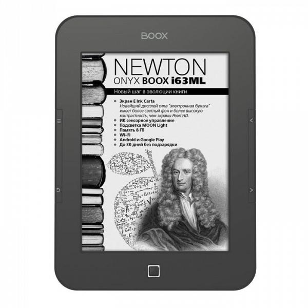 купить Электронная книга Onyx Boox i63ML Newton grey metallic - цена, описание, отзывы - фото 1
