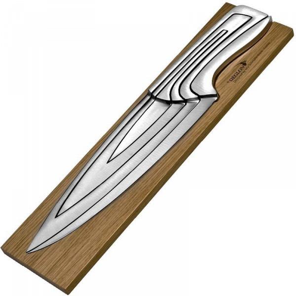 купить Набор ножей Deglon Meeting 8240000-V на дубовой подставке - цена, описание, отзывы - фото 1