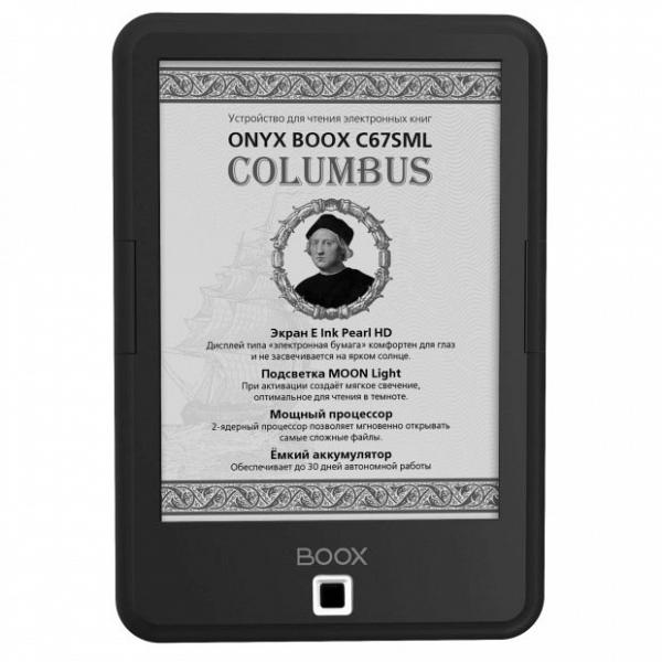 купить Электронная книга Onyx Boox C67SML Columbus black - цена, описание, отзывы - фото 1