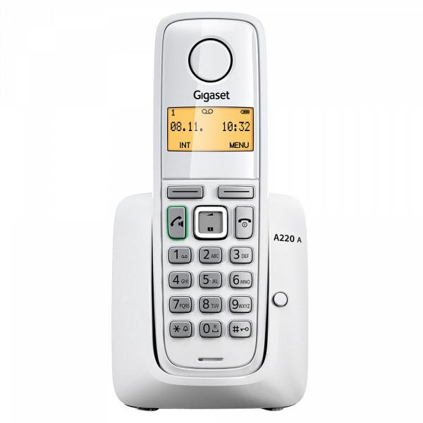 купить Радиотелефон Gigaset A220 white - цена, описание, отзывы - фото 1