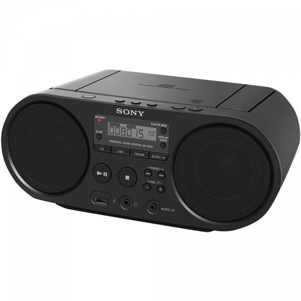 купить Магнитола Sony ZS-PS50 black - цена, описание, отзывы - фото 1