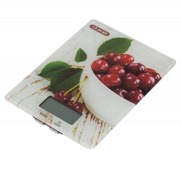 купить Кухонные весы Leran EK 9332 01 черешня - цена, описание, отзывы - фото 1