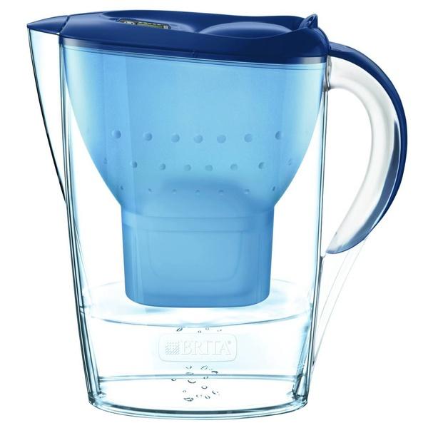 купить Фильтр для очистки воды Brita Marella-XL синий 3.5 л - цена, описание, отзывы - фото 1