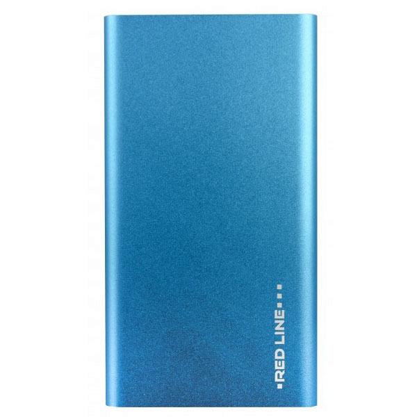 купить Портативный аккумулятор Red Line J01 (УТ000009487) синий - цена, описание, отзывы - фото 1