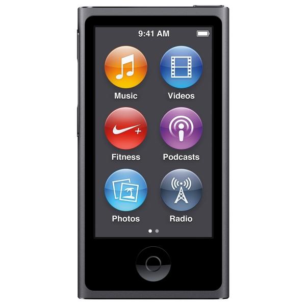 купить MP3-плеер Apple iPod nano 16Gb Space Gray - цена, описание, отзывы - фото 1