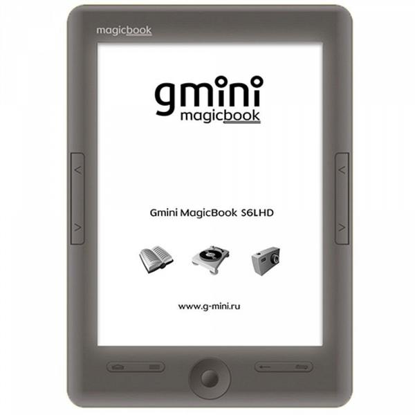 купить Электронная книга Gmini MagicBook S6LHD Graphite - цена, описание, отзывы - фото 1