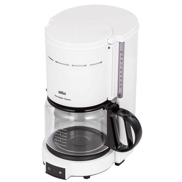 купить Кофеварка Braun KF 47/1 белая - цена, описание, отзывы - фото 1