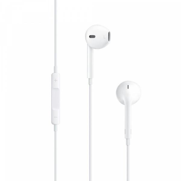 купить Наушники Apple EarPods with 3.5mm MNHF2ZM/A white - цена, описание, отзывы - фото 1