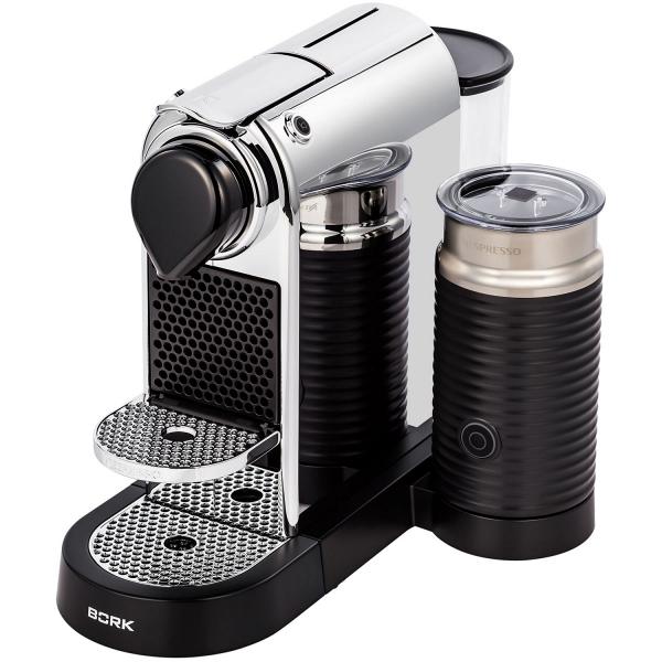 купить Кофеварка BORK C533 Citiz&Milk Chrome - цена, описание, отзывы - фото 1