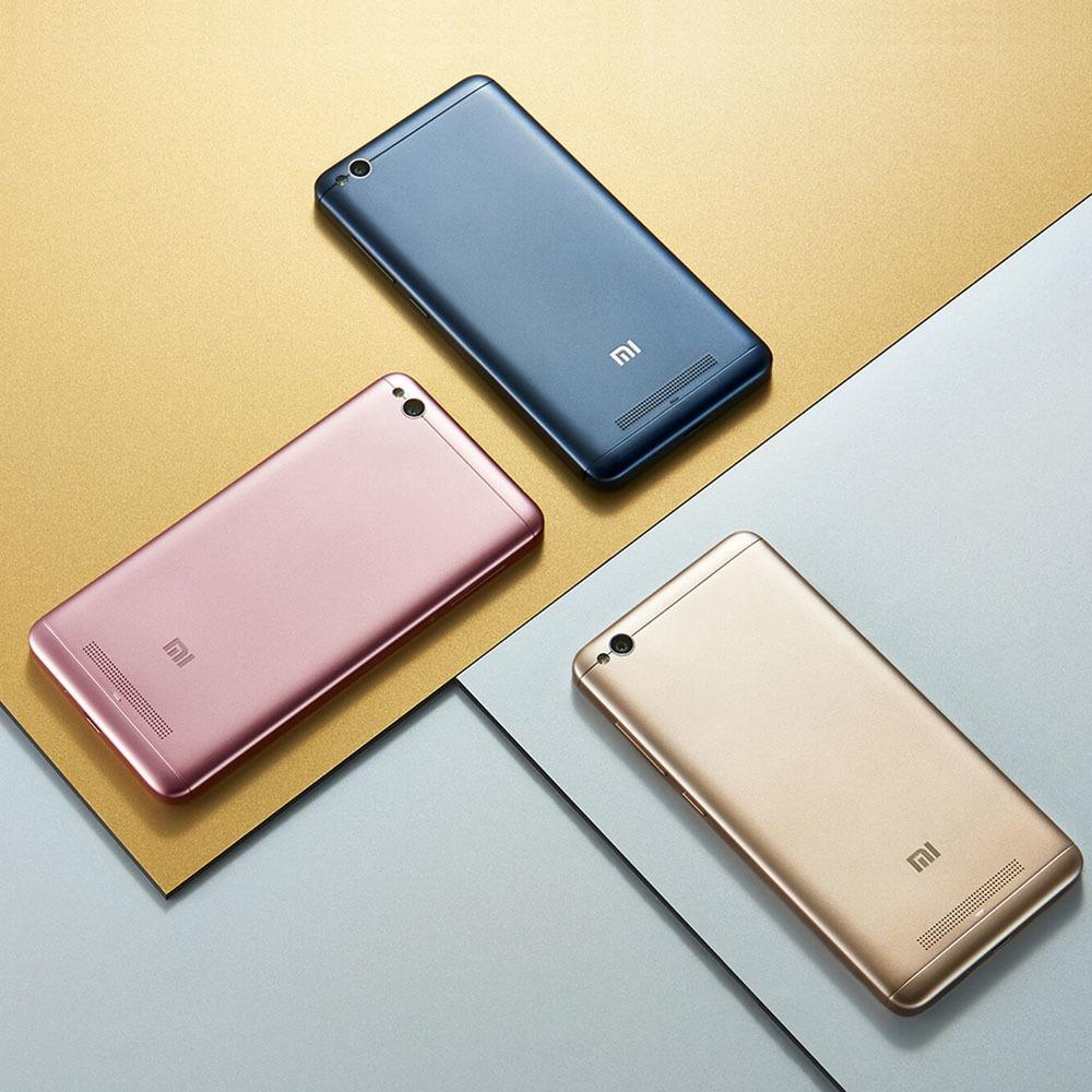 Смартфон Xiaomi Redmi 4A 16Gb золотой в интерьере - фото 1