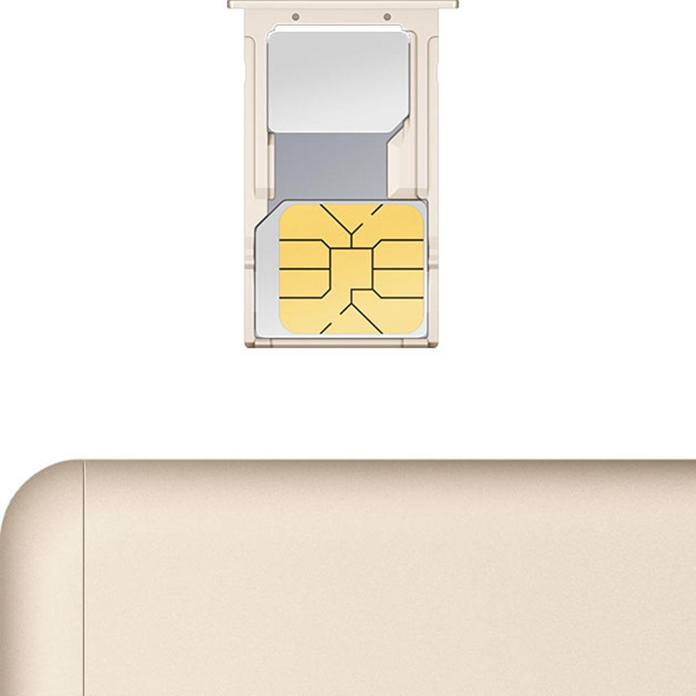 Смартфон Xiaomi Redmi 4A 16Gb золотой в интерьере - фото 3